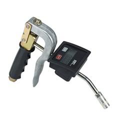 Výdajná pištol na mazivo s prietokomerom
