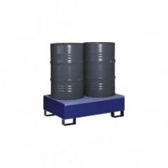 Záchytná vaňa (pre 2x200 l sud) + rošt