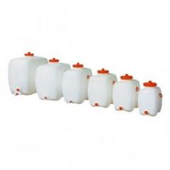 Plastová nádrž 300 l s výpustným ventilom
