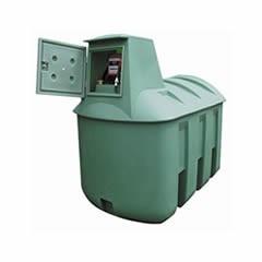 Dvojplášťová nádrž BORALIT 3300 pre čerpaciu stanicu na naftu