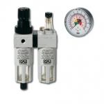 Regulátor tlaku, odlučovač a olejovač