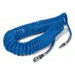 Špirálová hadica na stlačený vzduch 8bm s koncovkam