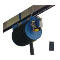 Elektrický navíjač hadice s diaľkovým ovládaním pre odsávacie lišty