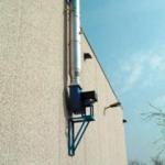 Ventilátory pre odsávanie výfukových splodín