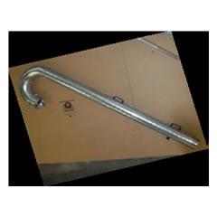 Pripojovacia koncovka kovová pre horné výfuky